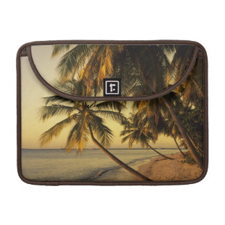 Beach at sunset, Trinidad MacBook Pro Sleeve