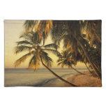Beach at sunset, Trinidad Place Mat
