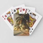 Beach at sunset, Trinidad Poker Deck