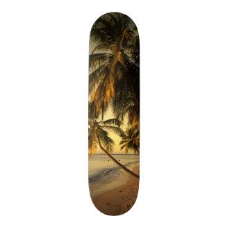 Beach at sunset, Trinidad Skateboard Deck