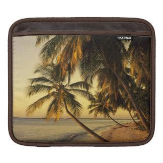 Beach at sunset, Trinidad Sleeve For iPads