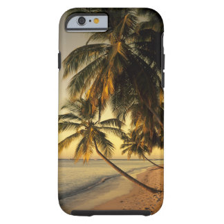 Beach at sunset, Trinidad Tough iPhone 6 Case