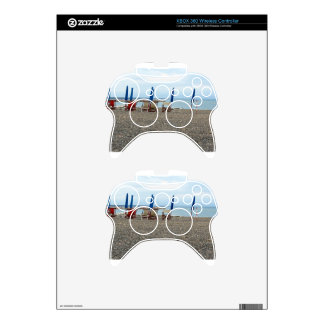 Beach at sunset xbox 360 controller decal