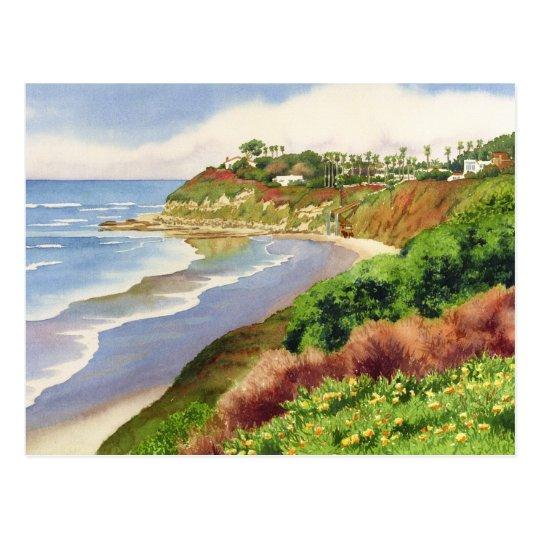 Beach at Swami's Encinitas Postcard