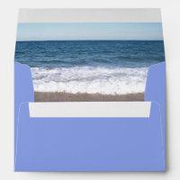 Beach At The Ocean Envelope