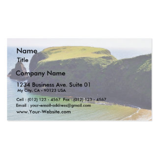 Beach At Trabane Strand Business Card