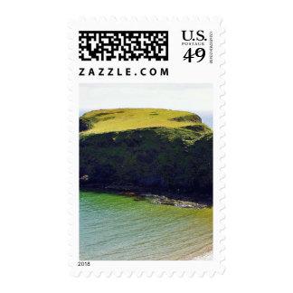 Beach At Trabane Strand Postage Stamp