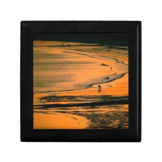 Beach Aubins Bay Jersey Channel Islands Gift Box