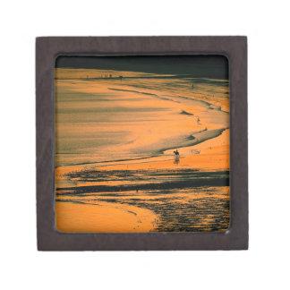 Beach Aubins Bay Jersey Channel Islands Premium Gift Box