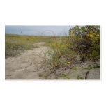 Beach Autumn Wildflowers Business Cards