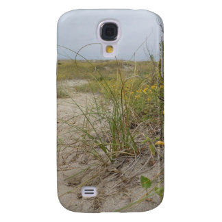 Beach Autumn Wildflowers Samsung Galaxy S4 Cover