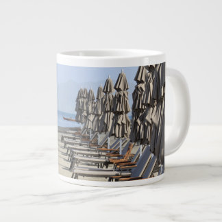Beach Awaiting Bathers Giant Coffee Mug