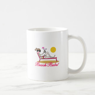 Beach Babe Classic White Coffee Mug