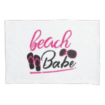 beach babe pillow case