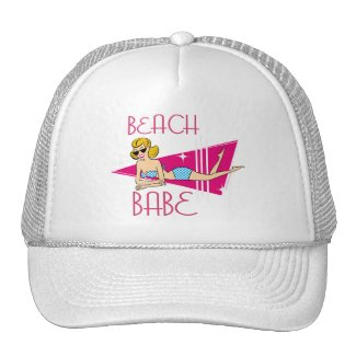 Beach Babe T-shirts Gifts Trucker Hat