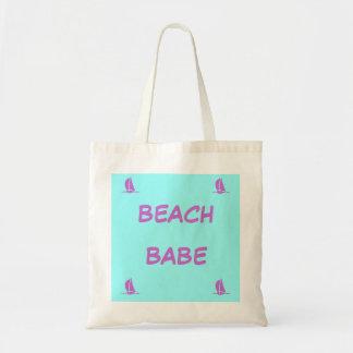 Beach Babe Tote Budget Tote Bag