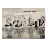 Beach Babes Stationery Note Card