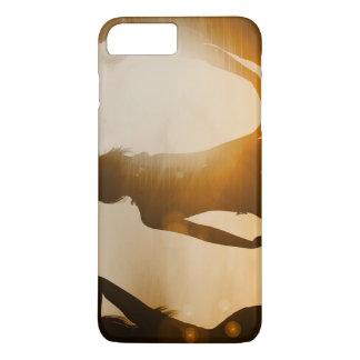 Beach Babes Sunset Silhouette Enjoying the Sun iPhone 8 Plus/7 Plus Case