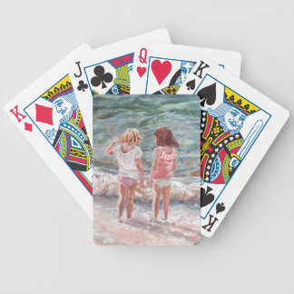 Beach Babies Bicycle Playing Cards