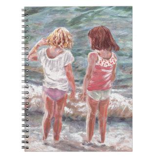 Beach Babies Notebook