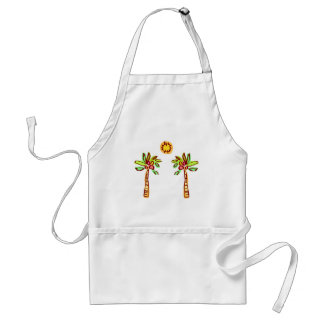 Beach Baby Adult Apron