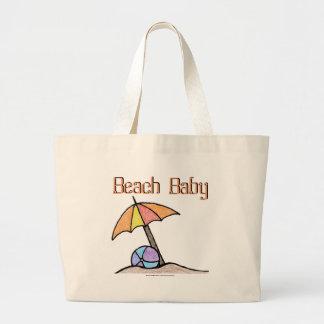 Beach Baby Canvas Bags