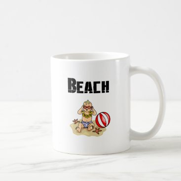 Beach Themed Beach Baby Coffee Mug
