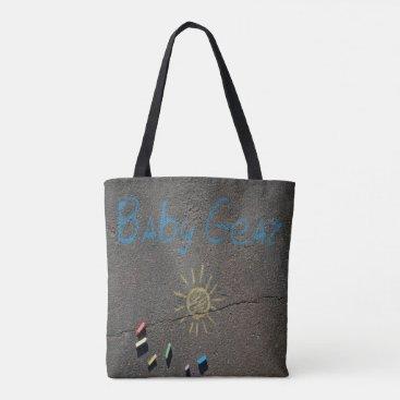 Beach Themed Beach Baby Gear Tote Bag