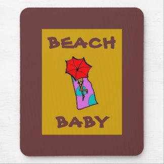 BEACH BABY - mousepad