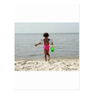 Beach Baby Postcard
