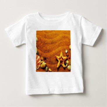 Beach Themed Beach Baby T-Shirt