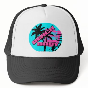 Beach Themed Beach Baby Trucker Hat