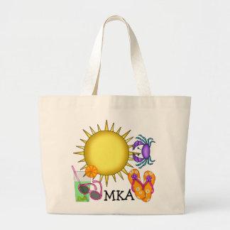 Beach Bag Tote by SRF