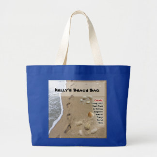 Beach Bag with your name (customizable)
