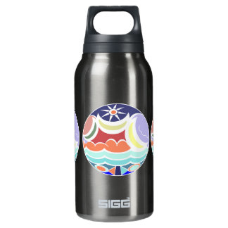Beach Ball Abstract Summer Thermos Water Bottle