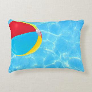 Beach Ball Accent Pillow