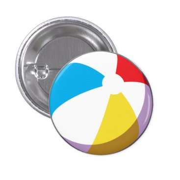 Beach Themed Beach Ball Button
