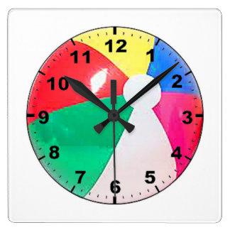 """""""Beach Ball"""" design wall clocks"""