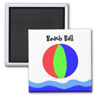 Beach Ball Fun Magnet