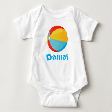 all_summer_products Beach Ball Infant Creeper