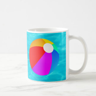 Beach Ball Classic White Coffee Mug