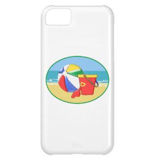 Beach Ball Pail and Shovel iPhone 5C Case