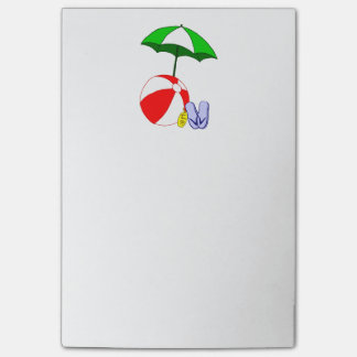 Beach Ball Pool Umbrella Post it Post-it® Notes