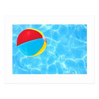 Beach Ball Postcard