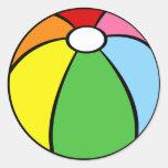 Beach Ball Round Sticker