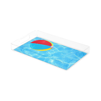 Beach Ball Serving Tray