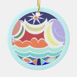 Beach Ball Summer Colors Ornament
