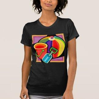 Beach Ball womens t-shirt