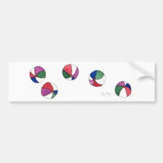 Beach Balls Bumper Sticker