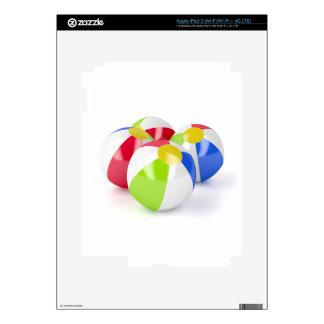 Beach balls decal for iPad 3